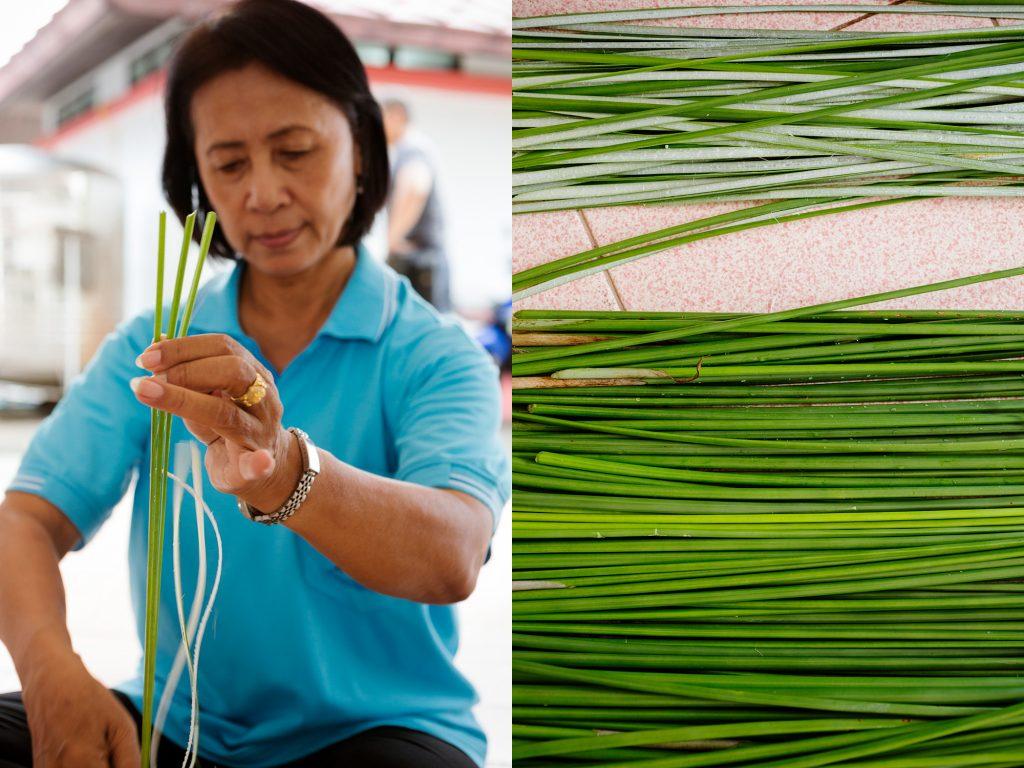 Fotoreise Fotokurs Thailand Handwerk Schilf Chanthaburi Reisetipp