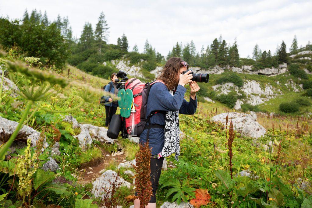 Oder du fängst die Idyllische Alpen-Motive mit deiner Kamera ein.