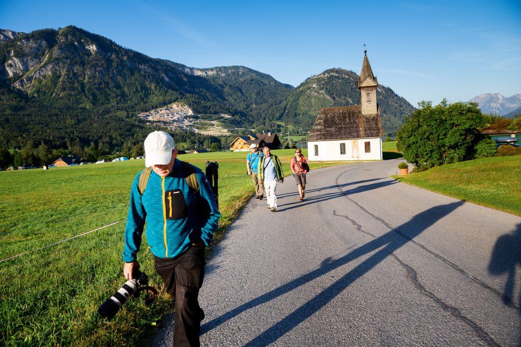 Unsere Wanderung auf die Pühringer Hütte startet in Gößl am Grundlsee.