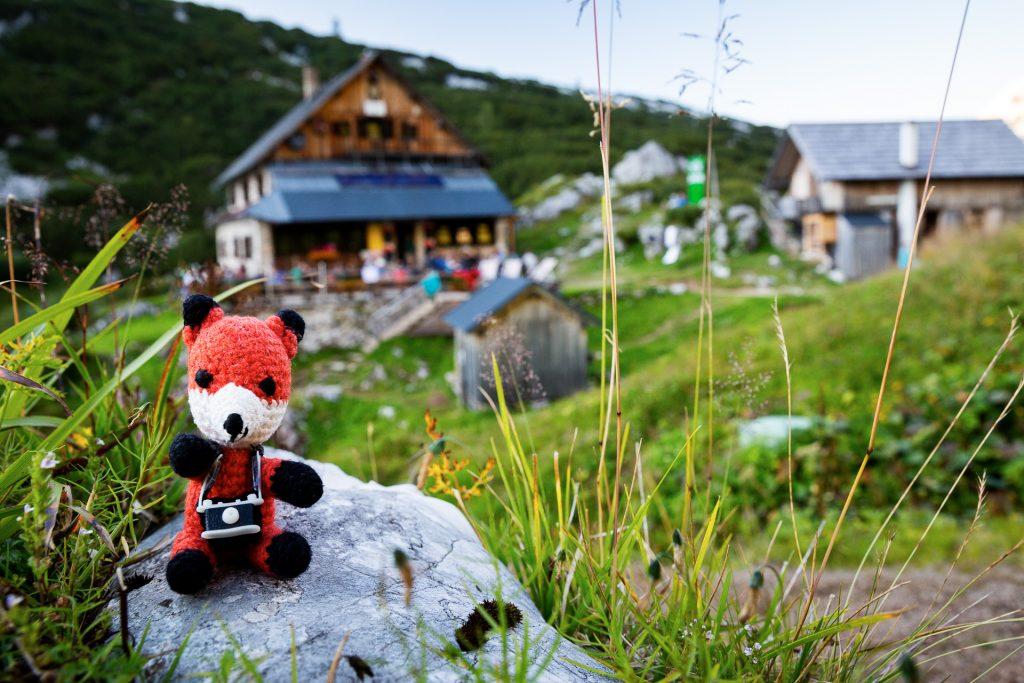 Bei unserem Wander-Fotokurs im Salzkammergut zeigt dir Finn viele Tipps und Tricks rund ums Fotografieren im Gebirge.