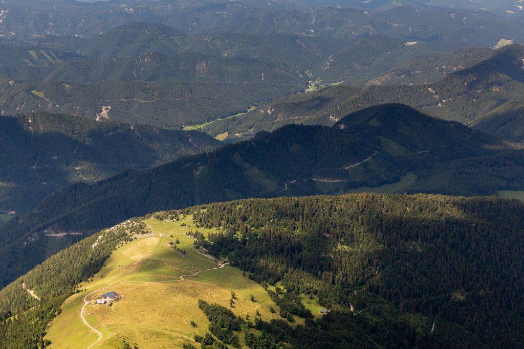 Bei unserem Wander-Fotokurs auf den Schneeberg erwarten dich beeindruckende Landschaftsmotive.