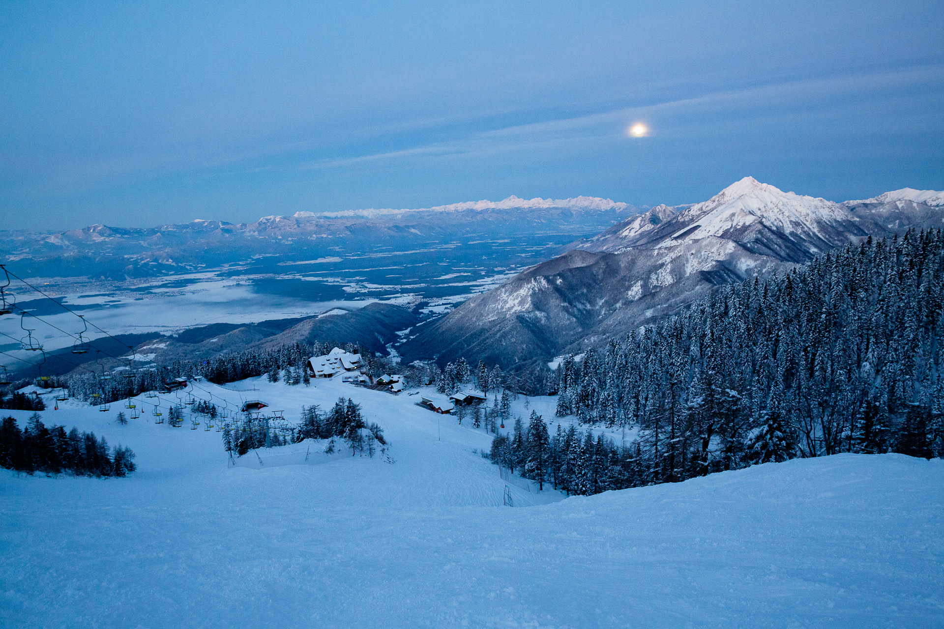 In den Bergen zahlt sich frühes Aufstehen besonders aus.