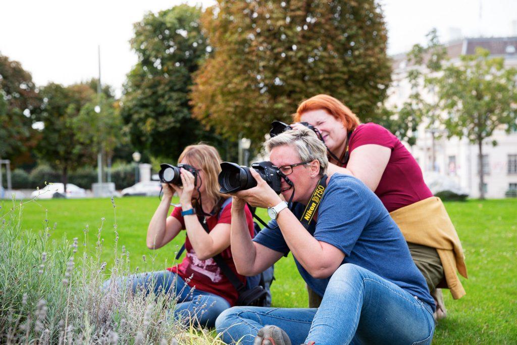 Gemeinsam Fotografie lernen und neu erleben.