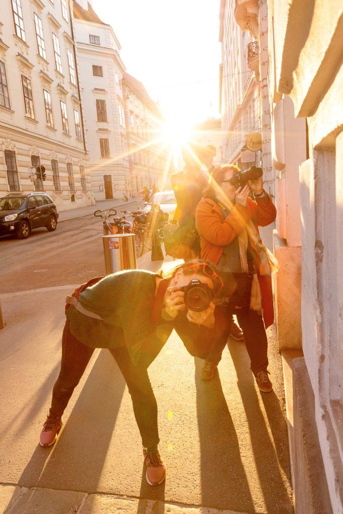 Wir beschäftigen uns mit den Regeln der Straßenfotografie.