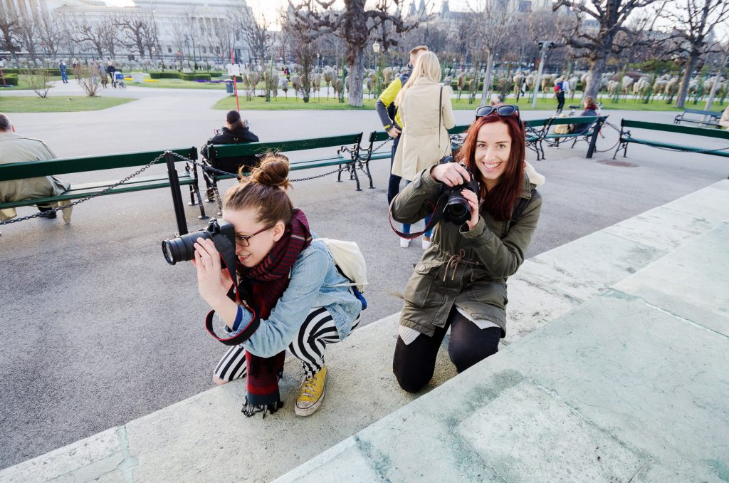 Unser exklusiver Fotokurs für Frauen in Wien.