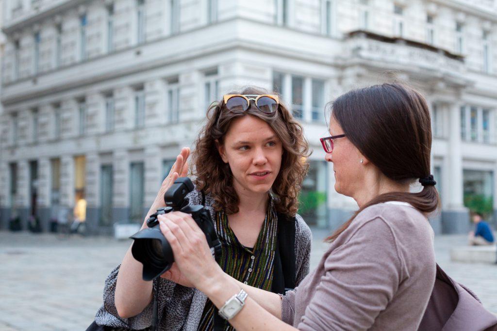 Fotografie dort lernen, wo sie passiert.