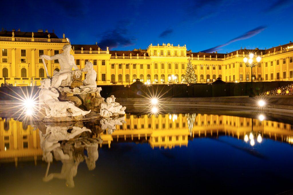 Bei unserem Fotokurs Schönbrunn im Abendlicht lernst du die schönsten Stimmungen des Nachmittags und Abends auf Bild zu bannen.