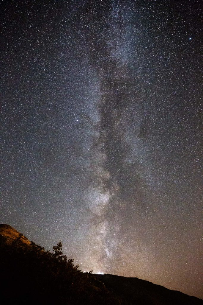 Sternenfüchse können in jeder Nacht bei passabler Wetterlage gemeinsam mit uns die Sterne fotografieren.