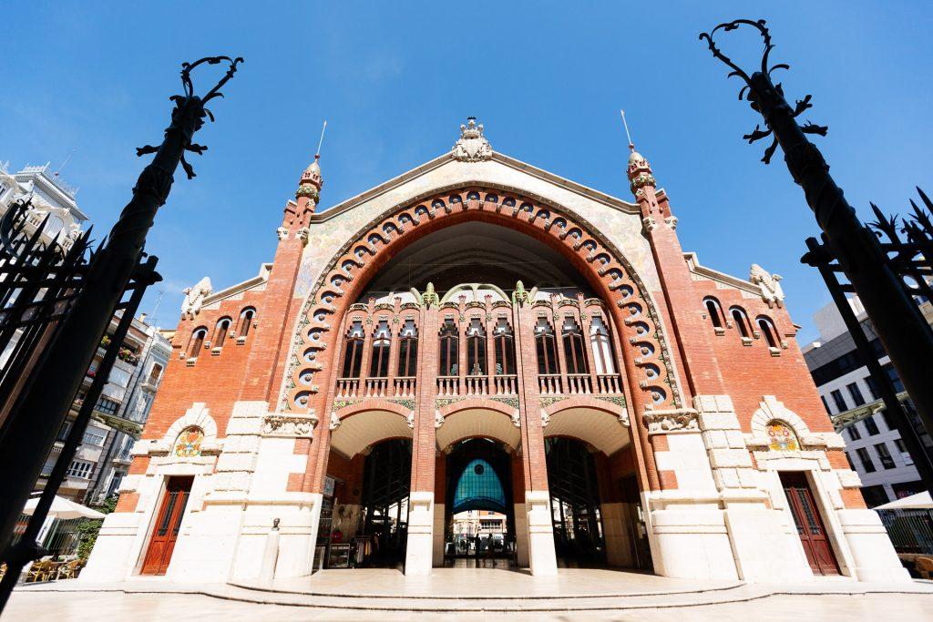 Der Mercado Colón in Valencia zählt zu einem der prachtvollsten Jugendstilgebäude der Stadt.