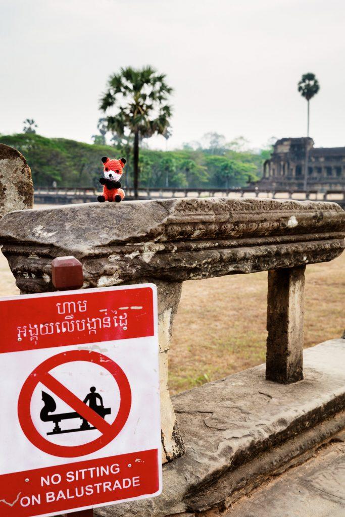 Die FOTOFÜCHSE Wunschorte. Immerhin braucht Fotofuchs ja ausreichend Energie um nach dem Sonnenaufgang die Tempelanlagen zu erkunden.