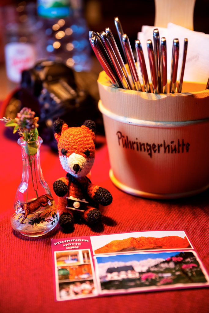 Die FOTOFÜCHSE Wunschorte. Den Besuch der Pühringerhütte rundet dann noch ein hochprozentiger Fuchs ab. Zur Förderung der Fuchs-Verdauung versteht sich.