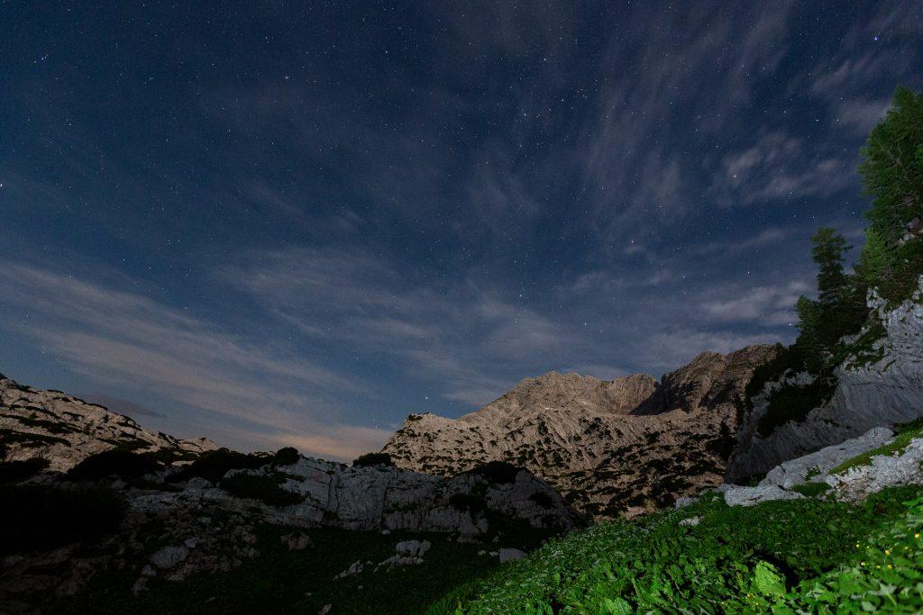 DIE FOTOFÜCHSE Foto Locations Salzkammergut. Auch des Nachts bietet das Rotgschirr ein eindrucksvolles Fotomotiv.