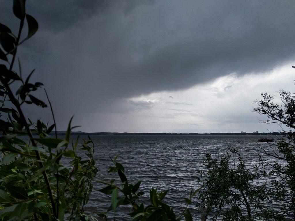 Regenfeste Fotofüchse können mit uns auch bei imposanten Wetter im Grünen mit uns auf Fotostreifzug gehen.