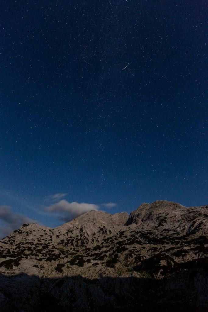 Sternenfüchse können in jeder Nacht bei passabler Wetterlage gemeinsam mit uns die Sterne fotografieren. Mit etwas Glück begegnen uns am nächtlichen Himmel auch Sternschnuppen.