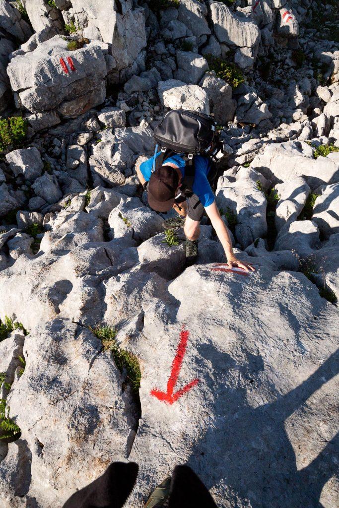 Bei unserem Wander-Fotokurs gehen wir fast 43 Kilometer quer durch das tote Gebirge. Sei also trittsicher und bring gute Kondition mit!