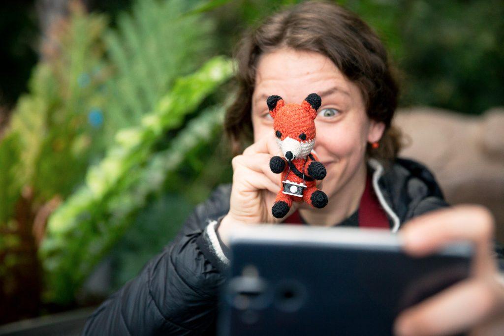 Spiele dich mit der Perspektive und lerne deine Handykamera kennen.