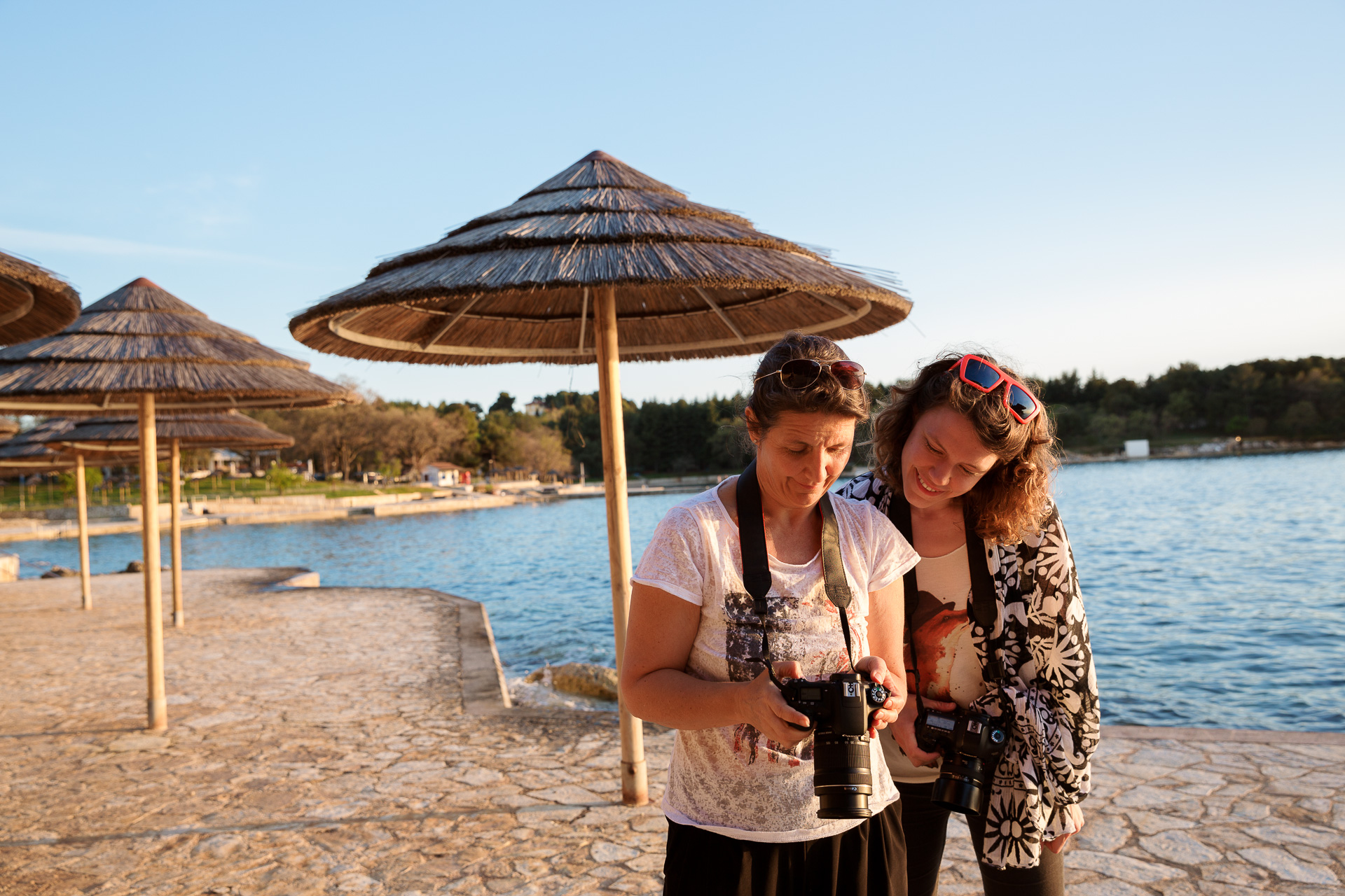 Damit es nicht zu voll wird. Wir legen bei unseren Fotoreisen großen Wert auf kleine Reisegruppen.